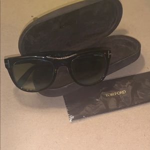 Women's SunglassesTom Ford brown and goldauthentic